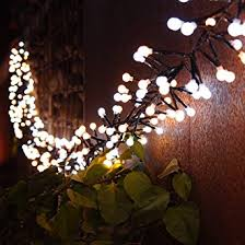 Moon Light For Bedroom by String Lights With 10ft 3m 400 Led Bulbs 8 Modes Waterproof Starry