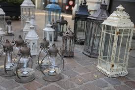 antique lights for sale lanterns and lights for sale at flea market stock photo image of