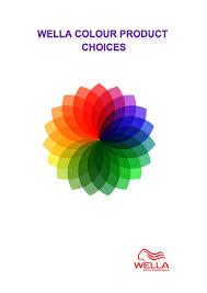 Hair Color Wheel Chart Fudge Headpaint Salon Wall Chart By Fudge Hair Issuu