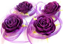 Prom Flowers Purpl Rose Corsage Prom Flowers Baby Shower Corsage Bridal Corsage