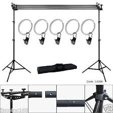 photography backdrop stand 10ft crossbar background support stand photo studio