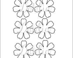 template diy paper flower templates diy paper flower dahlia pdf flower