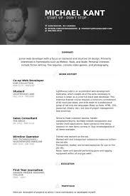 Personal Resume Template Web Resume Examples 26 Ellen Skye Riley Perfectcv Responsive