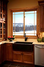 bathroom attractive stylish kitchen window treatment ideas