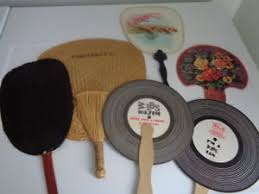 hand held fans for church lot of 6 vintage hand held fans church fans ebay