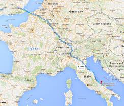 Bari Italy Map by Cycling From London To Italy 2016 Franco Raimondi