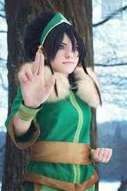 Aang Halloween Costume Aang Avatar Airbender Cosplay Elffi Cosplay