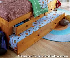 Wood Daybed With Pop Up Trundle Bedroom Simple White Day Bed With Trundle With Wood Material And