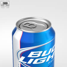 bud light beer can budlight beer can 330 ml by humster3d 3docean