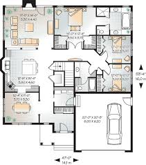 first floor plan of bungalow house plan 65432 floor plans
