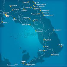 volos map map of pelion greece greeka