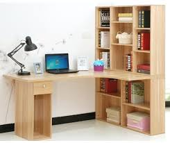 Bookcase Desk Diy Desk Computer Desk Bookshelf Combination Diy Computer Desk