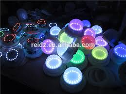 small led lights with remote battery operated mini led under table lights for indian wedding
