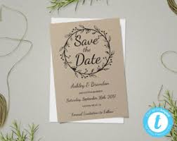 diy save the dates diy save the date etsy