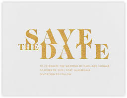 Save The Date Modern Save The Dates Online At Paperless Post