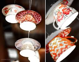 Lampshades For Chandeliers 21 Diy Lamps U0026 Chandeliers You Can Create From Everyday Objects