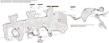 Dark Souls Map Image 9 Blighttown Swamp Png Dark Souls Wiki Fandom Powered