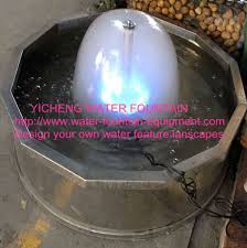 Outdoor Water Fountains With Lights Mushroom Mini Water Fountain With Lights Outdoor Water Fountains
