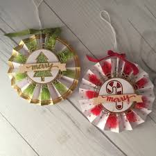 sted sophisticates be merry rosette ornaments kit
