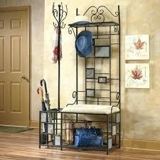 storage bench coat rack entryway bench with coat rack build