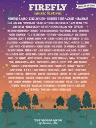 10 reasons to go to the firefly music festival