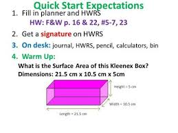 Desk Height Calculator by Quick Start Expectations 1 Fill In Planner And Hwrs Hw F U0026w P 3