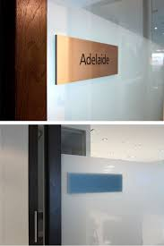 glass door signs james signs what we do raised letters u0026 plaques plaques