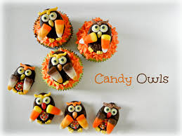 sugar swings serve some simple candy owls