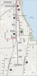Cta Map Chicago Rebuilding The Red Line Chicago Tribune