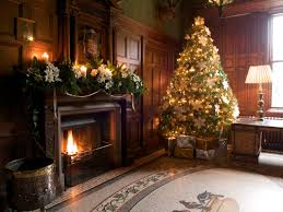 corner christmas tree decorations living room christmas decoration alongside