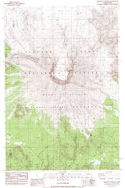 Mt Washington Map by June Lake And The Loowit Trail Mt Saint Helens Washington