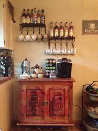 storage coffee bar table kitchen coffee ideas pics coffee