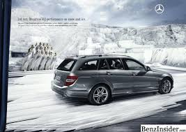 mercedes c class station wagon mercedes launches marketing caign for c class estate