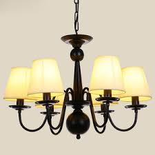 modern chandeliers in 6 light ceramic shade e27 lamp holder
