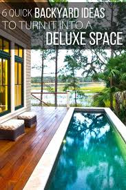 Backyards Ideas On A Budget 6 Quick Backyard Ideas To Turn It Into A Deluxe Dining U2013 The