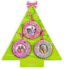 lilly pulitzer photo ornaments health