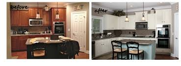 annie sloan duck egg blue painted kitchen cabinets before and