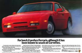 vintage porsche ad porsche 944 turbo ad porsche ads through the years pinterest