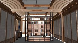 Korean Interior Design Sketchup Korean Style House Avi Youtube