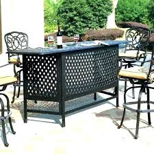 Bar Height Patio Set With Swivel Chairs Patio Bar Set Outdoor Bar Sets Patio Furniture Bar Set Patio Bar
