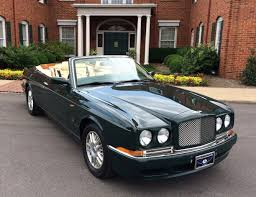 bentley azure for sale 1999 bentley azure special order convertible lemans racing green