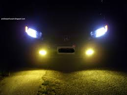 Fog Lights Articles Why Are Fog Lights Yellow