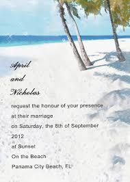 wedding invitation beach wedding invitation wording superb