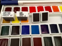 doodlewash doodlewash review holbein watercolors