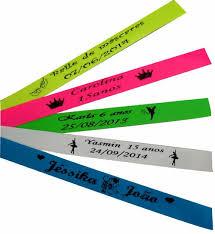 Muito pulseira identificação personalizada - Festashop &YU32