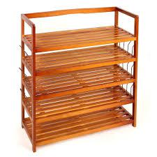 3 Shelf Wire Rack Rack Wooden Shoe Rack For Entry Room Storage Ideas U2014 Bananawho Com