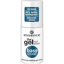 essence the gel nail polish base coat at wilko com
