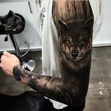 122 best wolf tattoos designs who makes wolf tattoos tattoozza