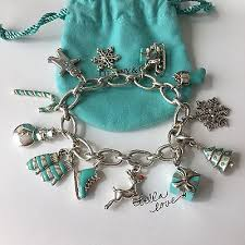 tiffany charm bracelet with charms images Charm bracelets collection on ebay jpg