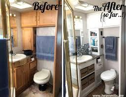 Spectacular Rv Bathroom Accessories Bathroom Redo Rv Toilet
